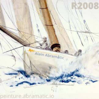 peinture de voilier référence R2008